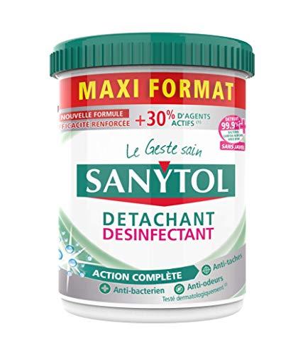 Sanytol Poudre Détachante Désinfectante Maxi Format 900 g