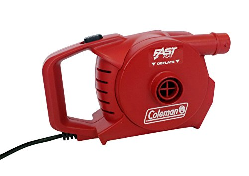 Coleman Luftpumpe elektrische für den Betrieb mit 230V, Rot, 2000019882