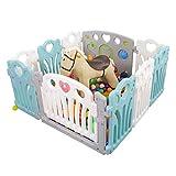 JINHUADAI De Seguridad for niños casero Cerca Indoor Infante Jugar for los bebés gateando Valla...
