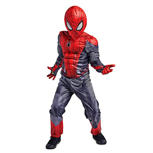 Marvel Spider-Man Costume Set for Kids - Spider-Man: Far from Home Size 5/6 Multi