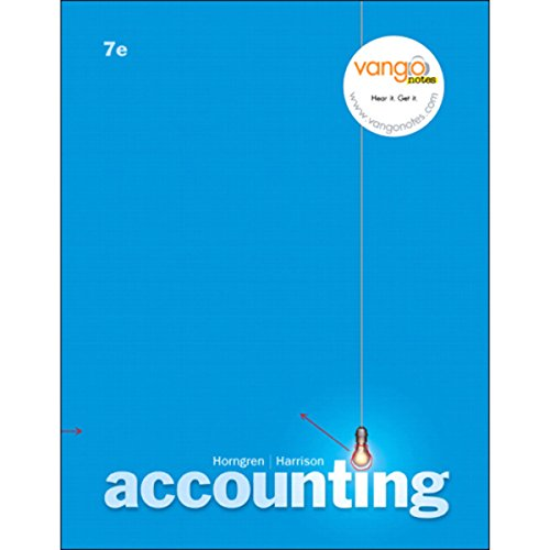 VangoNotes for Accounting, 7/e  By  cover art