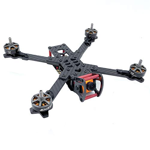 FPV Drone Frame X4/X5/X6/X7 200/230/260/300mm Drone Quadcopter Racing Frame, Carbon Fiber, X Structure (X7 300mm)