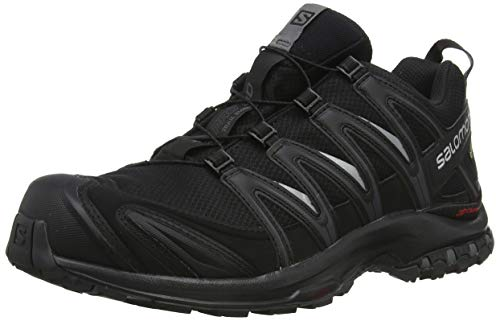 Salomon Men's XA Pro 3D GTX Trail Running Shoes, Black/Black/Magnet, 10