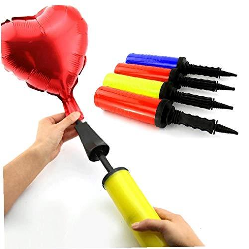 Bongles PVC Ballonpumpe Für Latex Aufblasbare Spielzeuge Und Folienballons Air Balls Pumpe Handpumpen-Geburtstags-Party Supplies