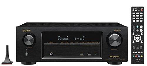 Denon Audio Video Component Receiver Black AVRX1400H