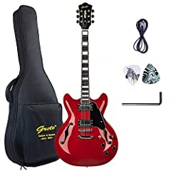 Laser Security Trademark & Metal truss rod cover Full Scale size & Set-in Neck HARD WARE: CR(JIN HO J-03) MADE IN KOREA Controls: 3-Way switch2*Vol2vl*tone Thicken cotton bag, Guitar Cable, Pick Sampler