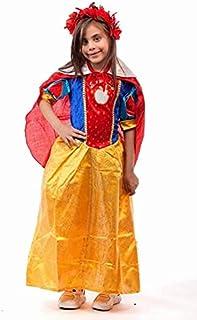 Snow White Kids Costume Set (Multicolor, S)