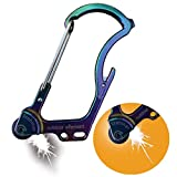 The Firebiner by Outdoor Element - A Fire-Starting, Multi-Tool, Every-Day-Carry, Survival Carabiner