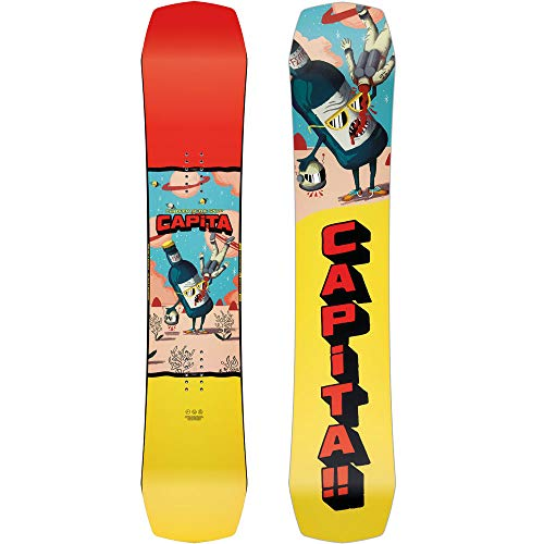 Capita Children of The Gnar Snowboard | Kids & Teen Snowboards - Park, All-Mountain - 149cm Capita All Mountain Snowboard