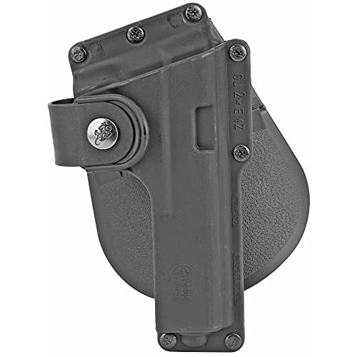 Fobus Tactical Speed Holster Paddle GLT19 Glock 19,23,32 / S&W 99 Compact/ M&P Compact holds Handgun with Laser or Light , Black