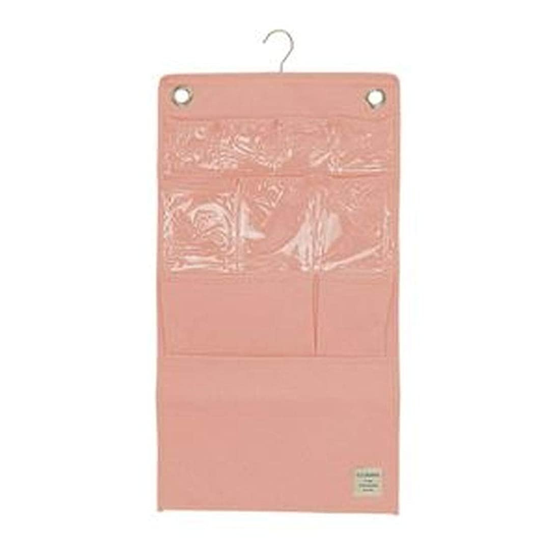 つかの間不確実杭- 4個セット - / ウォールポケット/壁掛け収納 / - ピンク - / 幅38cm×高さ70cm / 『ストレリアナチュレ』