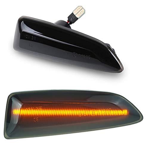 DoLED LED Seitenblinker Blinker getönt Schwarz/Rauchglas