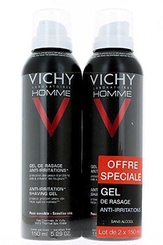 Vichy Sensi Shave Gel de afeitado anti-irritaciones, 1er Pack (1 x 300ml)