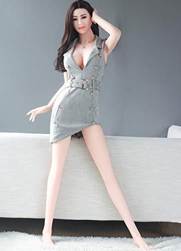 RFVBGT Neue aufblasbare Blowjob Sexpuppe männliche Sexpuppe realistische Sexpuppe 3D Silikon Brust Sexpuppe, Katze Masturbation, männliche Masturbation, Erwachsenenware