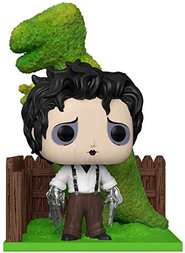 Funko- Pop Deluxe: Edward Scissorhands-Edward & DinoHedge Figura Coleccionable, Multicolor (50274)