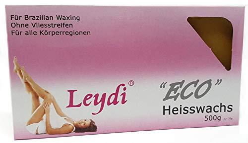 Leydi Heisswax ECO Honig 500g - Brazilian Waxing ohne Streifen