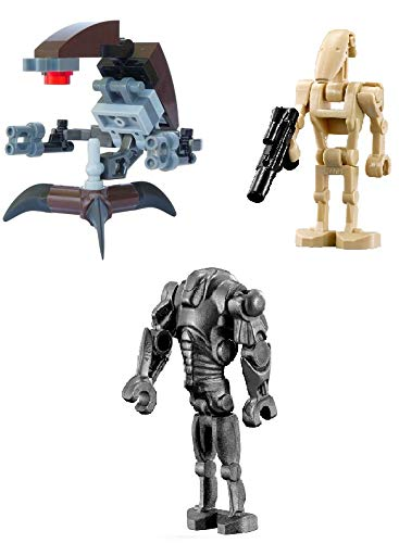 LEGO Star Wars: Droid Lot Super Battle Droid Destroyer Droid and Battle Droid