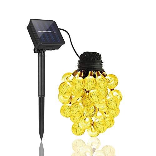 Lampara Solar Luz Exterior Solar Led Luces solares de jardín Impermeables últimas Lámparas solares al Aire Libre Luces solares para Exteriores 12m