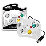Old Skool Controller Compatible with Gamecube/Wii - White