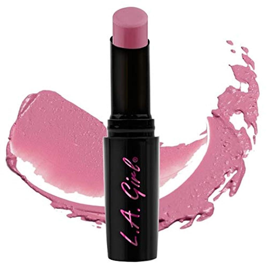 飽和する耐えられない松明L.A.girl Luxury Creme Lipstick L.A.ガール クリームリップスティック (GLC538 Devoted)
