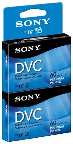 Best Buy! Sony DVM60PRR/2  60 min Premium DVC with Hangtab (2 Pack)