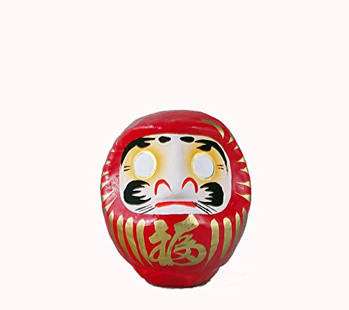 Daruma Portafortuna Giapponese, Rosso Per \