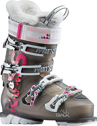 Rossignol Alltrack Chaussures de Ski 70 W pour Femme, Femme, RBG3350, Noir Clair, 25