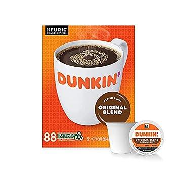 Dunkin  Original Blend Medium Roast 88 Keurig K-Cup Pods