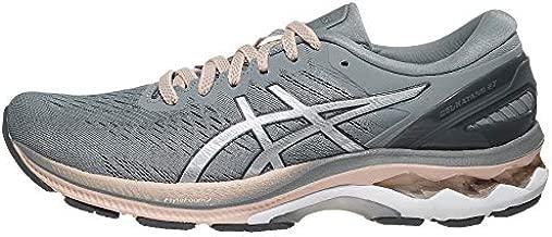 ASICS Women's Gel-Kayano 27 Running Shoes, 8.5, Sheet Rock/Pure Silver