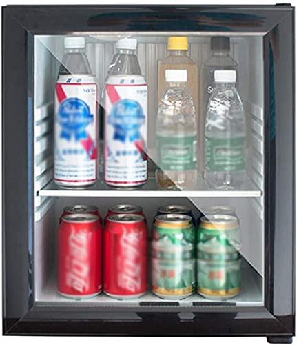 30 L mini refrigerador Refrigerador de bebidas/refrigerador Congelador compacto 5 a 15 °C Iluminación LED salón mini bar refrigerador