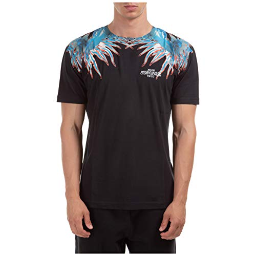 MARCELO BURLON Sea Snail t-Shirt Uomo Nero M