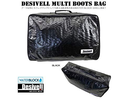 DESIVELL MULTI BOOTSBAG (BLACK)/ブーツケース ブーツバッグ スノーボード ブーツケース スノーウェア用バッグ BOOTSCASE SKI BOOTSCASE