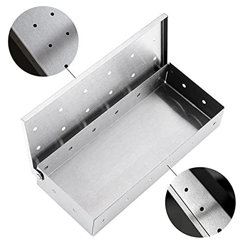 ZSDFW Grill Smoker Box für Holzchips...