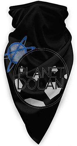 fenrris65 Planet-Dolan - Sciarpa sportiva antivento, adatta per moto, sci, passamontagna, sport all'aperto, equitazione, colore nero