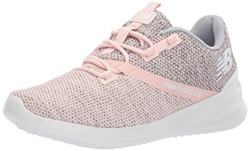 New Balance Women's Cush+ District Run V1 Shoe, Pink, 10 M US