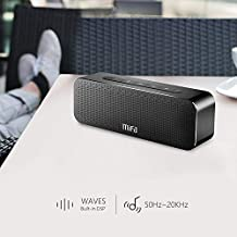 Portable Bluetooth Speakers Loud 24-Hour Playtime, MIFA True Wireless Stereo Speaker Soundbox Rich Bass and 3D DSP Sound, 30W, with Built-in Mic, Micro-SD Card Slot, for Home, Office, Travel