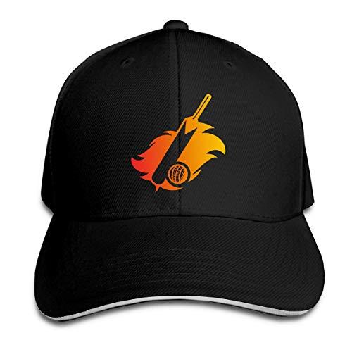 Cricket Bat Trucker Baseball Cap Verstellbarer Sandwichhut