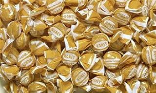 Go Naturally Organic Hard Candy, Honey, Bulk/pound, Individually Wrapped
