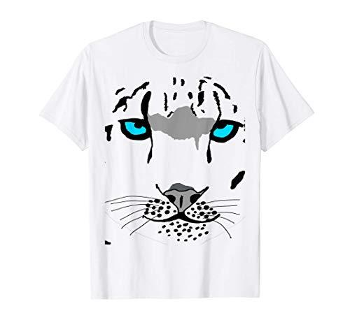Leopardo de las Nieves Disfraz Gato Salvaje Tigre Camiseta