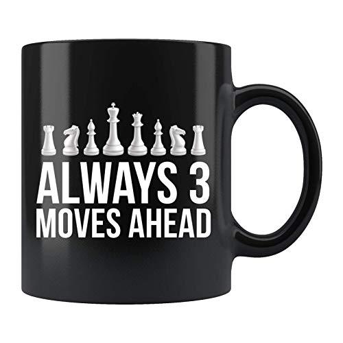 Taza de ajedrez Regalos de ajedrez Regalos de ajedrez Taza de café de ajedrez Regalos para ajedrez Taza de café de ajedrez Taza de ajedrez divertida Regalos para él regalos para ella Regalos de jugado