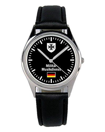 Soldat Geschenk Bundeswehr Artikel Militär Musikdienst Uhr B-1072