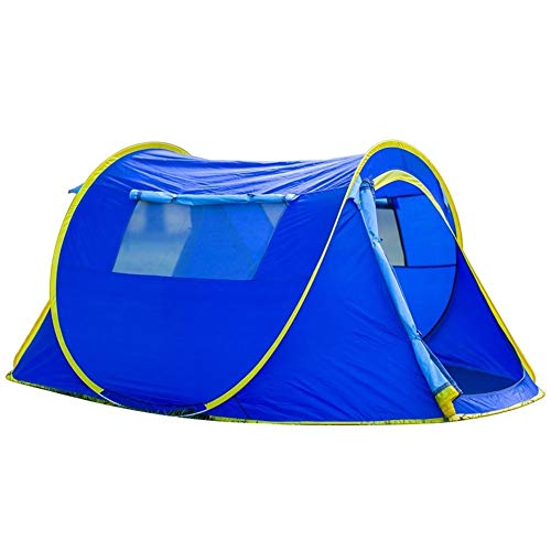Nanna Pop Up Tent Beach Tent Compact Tent For 2-4 Man Waterproof Tents For Beach Garden Camping Fishing Picnic Unisex Outdoor Dome Tent