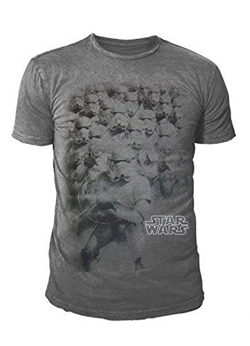 Star Wars - Camiseta - para hombre gris Small