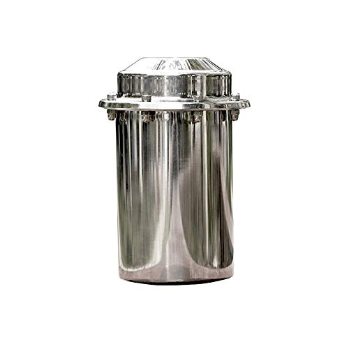 XMRISE wasserdichte Zeitkapsel aus Edelstahl, korrosionsbeständig, langlebig,verschließbar, Behälter für die Zukunft 7.87 inch/20cm