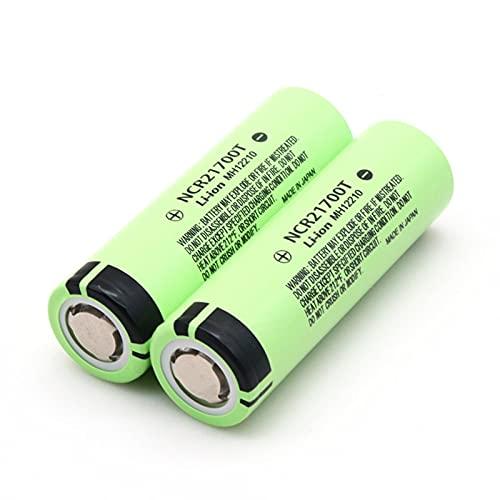 1-10 Piezas 21700 NCR21700T batería Recargable de Iones de Litio 4800 mAh 3,7 V batería de Alta Descarga Batería de Iones de Litio de Alta Fuga (21mm x 70mm, 10pcs)