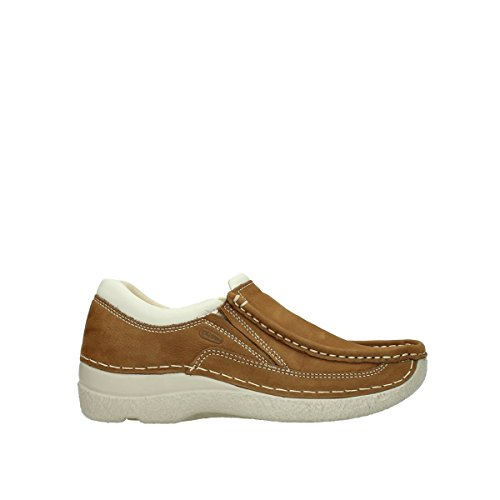 Wolky Comfort Slippers Roll Sneaker - 10410 Tobacco Nubuk - 41