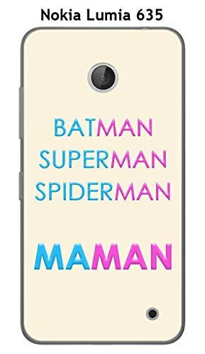 Onozo Coque Nokia Lumia 635 Design Maman vs Batman
