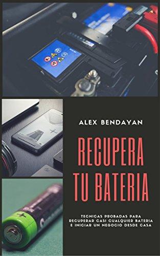 Recupera tu Bateria: Tecnicas probadas para recuperar casi cualquier bateria e iniciar un negocio desde casa