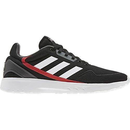adidas Men's Nebzed Running Shoe, core Black/FTWR White/Grey Six, 10.5 M US