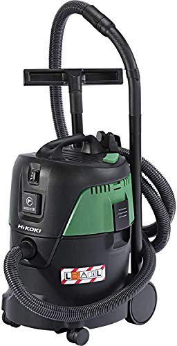 HIKOKI Nass-/Trockensauger RP250YDL (1000 Watt, 230 V, Luftstrom max.: 3,6m3/min, Behältervolumen: 25 l, Saugschlauch 3,5 m Ø 32 mm, 7,5 m Anschlusskabel)